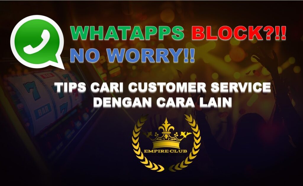 Tips Cari Agent 918Kiss bila Whatapps Service Block